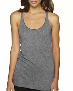 Premium Heather Ladies Triblend Racerback Tank