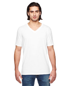White Triblend V-Neck T-Shirt