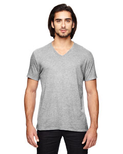 Heather Grey Triblend V-Neck T-Shirt