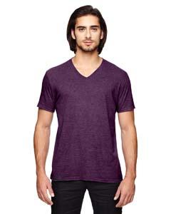 Hth Aubergine Triblend V-Neck T-Shirt