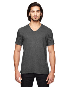 Hth Dark Grey Triblend V-Neck T-Shirt