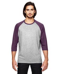 Hth Gr/ Tr H Au Triblend 3/4-Sleeve Raglan T-Shirt