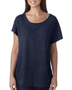 Vintage Navy Ladies Triblend Dolman