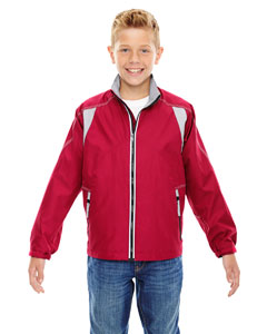Olympic Red 665 Youth Endurance Lightweight Colorblock Jacket