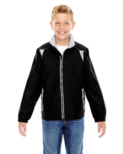 Black 703 Youth Endurance Lightweight Colorblock Jacket