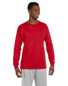 True Red Cotton Long-Sleeve T-Shirt