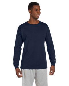 J Navy Cotton Long-Sleeve T-Shirt