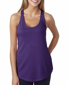 Purple Rush Ladies Terry Racerback Tank