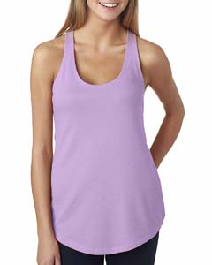 Lilac Ladies Terry Racerback Tank