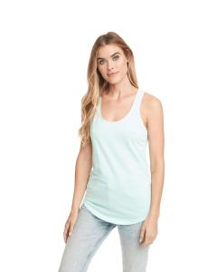 Mint Ladies Terry Racerback Tank