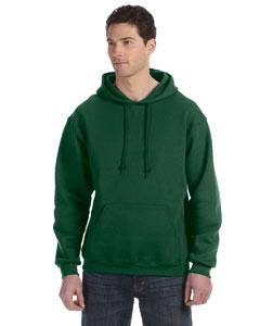 Dark Green Dri-Power® Fleece Pullover Hood