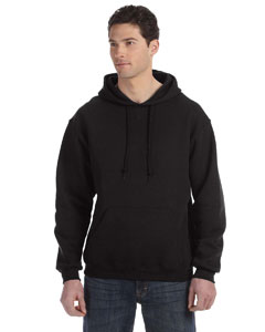 Black Dri-Power® Fleece Pullover Hood