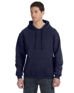 J Navy Dri-Power® Fleece Pullover Hood