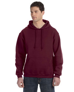 Maroon Dri-Power® Fleece Pullover Hood