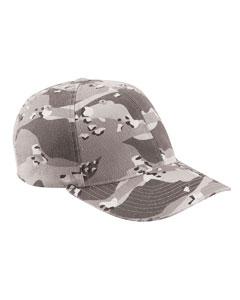 Silver Camo Cotton Camouflage Cap