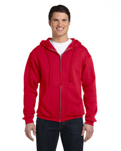 True Red Dri-Power® Fleece Full-Zip Hood