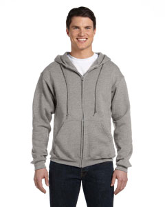 Oxford Dri-Power® Fleece Full-Zip Hood