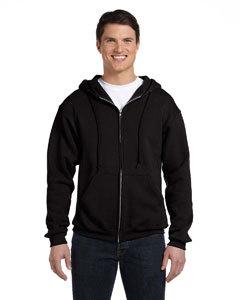 Black Dri-Power® Fleece Full-Zip Hood