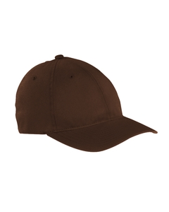 Brown Garment-Washed Twill Cap