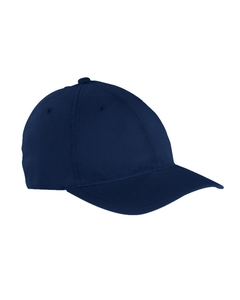 Navy Garment-Washed Twill Cap