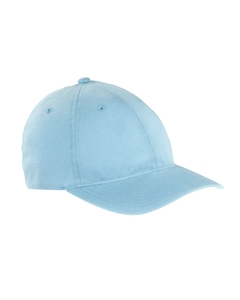 Light Blue Garment-Washed Twill Cap