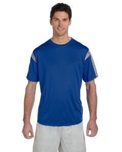 Royal/steel Short-Sleeve Performance T-Shirt