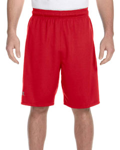 True Red/black Dri-Power® Colorblock Short