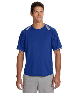 Royal/rock Dri-Power® T-Shirt with Colorblock Inserts