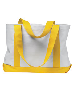 White/yellow P & O Cruiser Tote