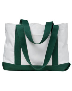 White/forest P & O Cruiser Tote