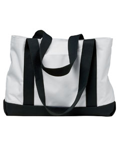 White/black P & O Cruiser Tote