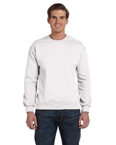 White Ringspun Crewneck Sweatshirt