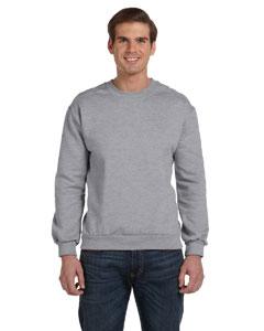Heather Grey Ringspun Crewneck Sweatshirt