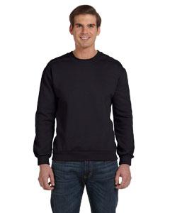 Black Ringspun Crewneck Sweatshirt