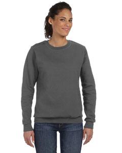 Charcoal Women's Ringspun Crewneck Sweatshirt