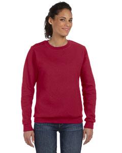 Independence Red Women's Ringspun Crewneck Sweatshirt