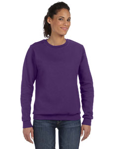 Texas Orange Women's Ringspun Crewneck Sweatshirt