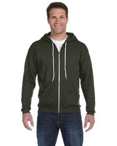 City Green Ringspun Full-Zip Hooded Sweatshirt