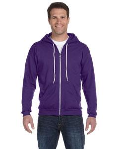Texas Orange Ringspun Full-Zip Hooded Sweatshirt