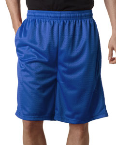 "Royal Adult Mesh/Tricot 9"" Shorts with Pockets"