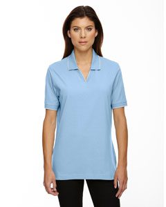 Powder Blue 802 Ladies' Cotton Jersey Polo