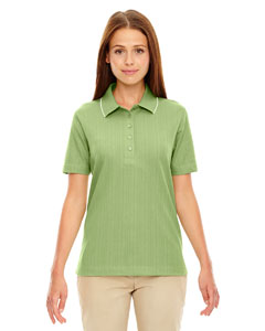 Frway Grn 602 Edry® Ladies' Needle-Out Interlock Polo