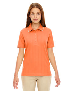 Hibiscus 606 Edry® Ladies' Needle-Out Interlock Polo