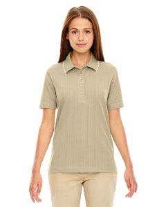 Sand Dune 756 Edry® Ladies' Needle-Out Interlock Polo