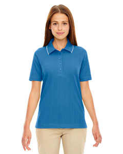 Lake Blue 800 Edry® Ladies' Needle-Out Interlock Polo