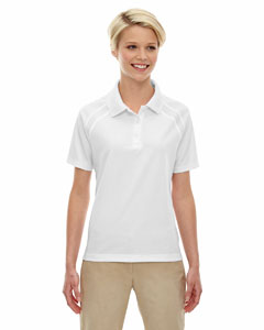 White 701 Eperformance™ Ladies' Ottoman Textured Polo