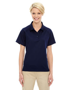 Classic Navy 849 Eperformance™ Ladies' Ottoman Textured Polo