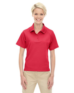 Classic Red 850 Eperformance™ Ladies' Ottoman Textured Polo