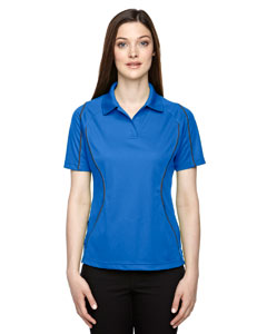 Lt Naut Blu 417 Eperformance™ Ladies' Velocity Snag Protection Colorblock Polo with Piping