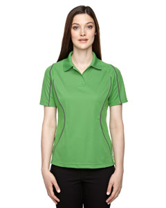 Valley Green 448 Eperformance™ Ladies' Velocity Snag Protection Colorblock Polo with Piping
